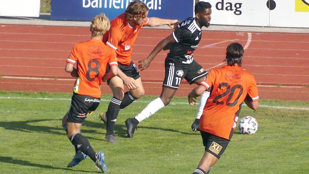 FC Gute spelar match på Gutavallen mot Trosa/Vagnhärad