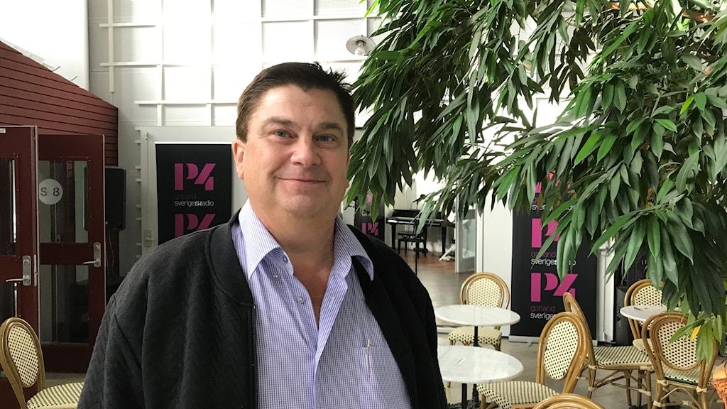Lars Engelbrektsson, ordförande för Sverigedemokraterna på Gotland.
