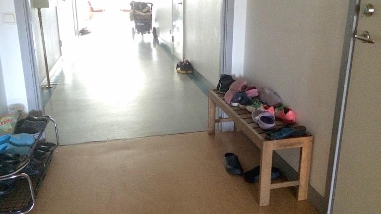 Asylboendet i Klintehamn.