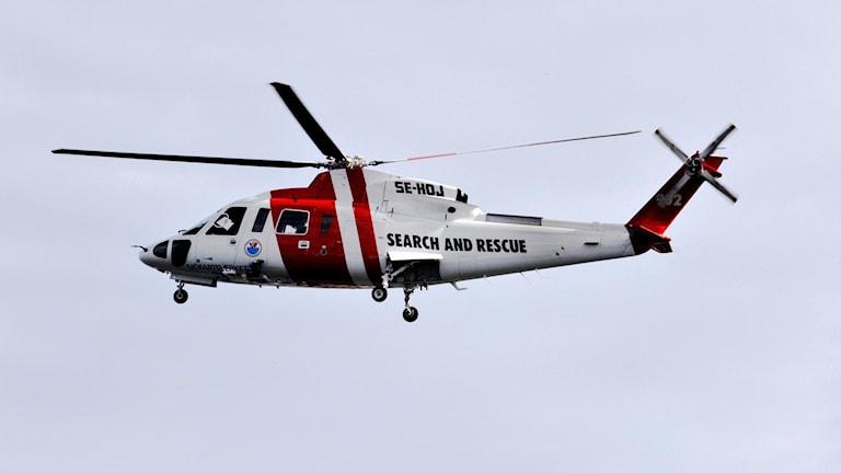 Ingen bemannad sjöräddningshelikopter på Gotland i juletider.