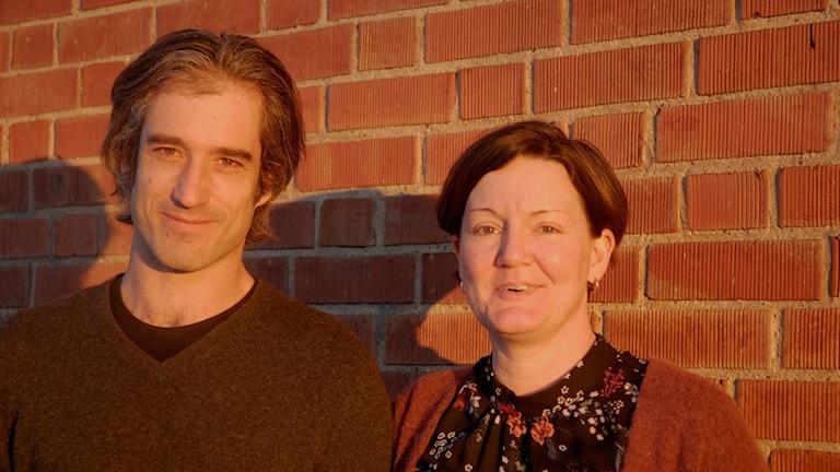 Daniel Heilborn och Isabel Enström