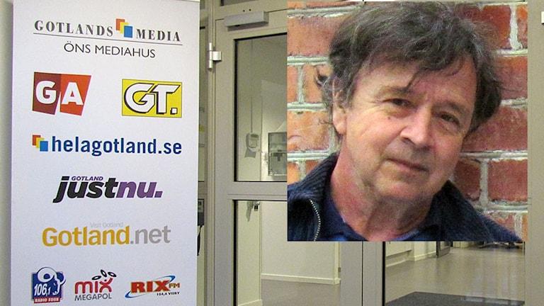 Gotlands Media GA GT Mediahus entré Hannes Müller