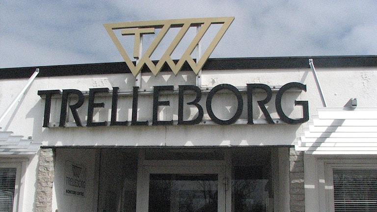 Trelleborgs Gummifabrik i Havdhem.Foto: Jonas Neuman/SR Gotland