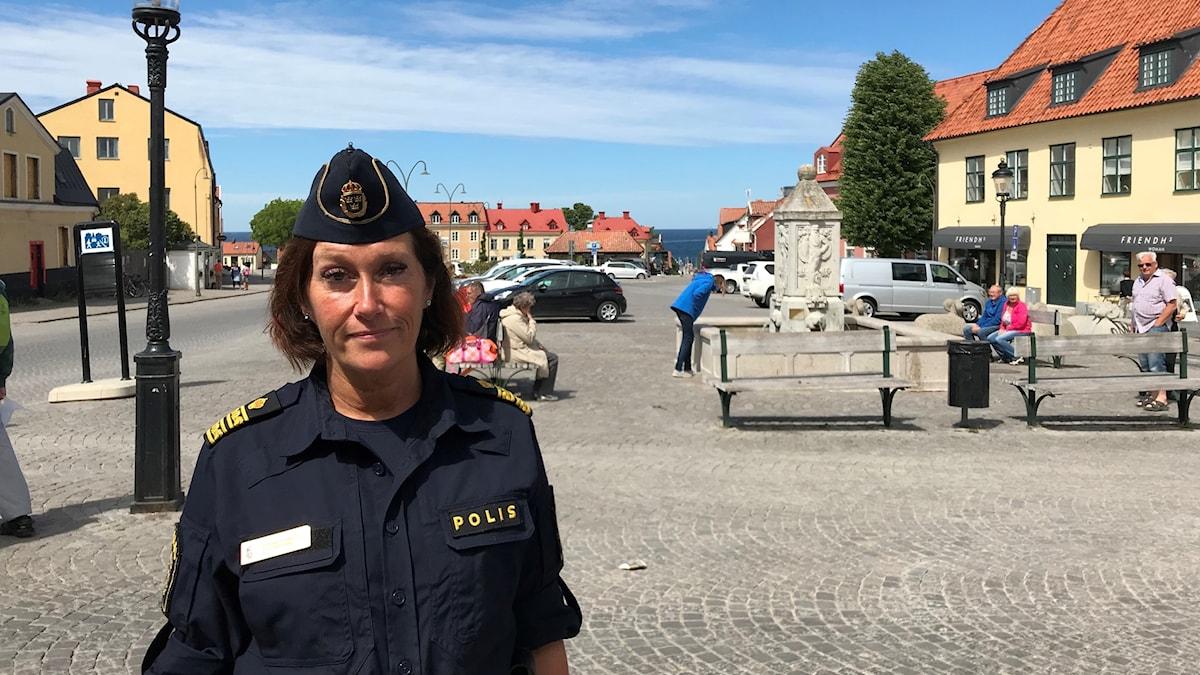 Elisabeth Anestad, biträdande kommenderingschef