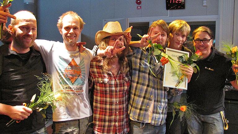 Kiss Me Hardy. Foto: Jimmy Englund/Sveriges Radio Gotland