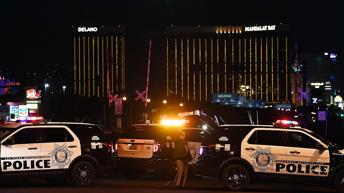 Värsta massskjutningen hittills i USA 2017-10-02.