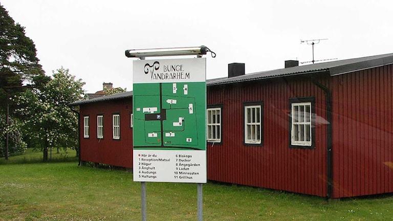 Bunge vandrarhem. Foto: Lasse Ahnell/SR Gotland