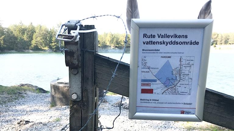 Vattentäkt Valleviken