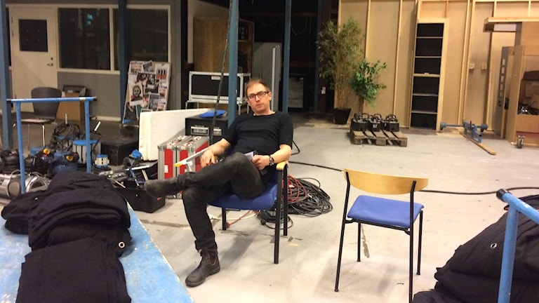 Filmkommissionären Ville Jegerhjelm har jobbat med nya filmstrategin.