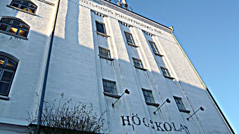 Högskolan på Gotland. Foto: Henrik Wallenius/SR Gotland
