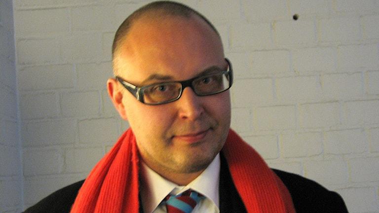 Advokat Tomas Pettersson. Foto: Katarina Hedström/SR Gotland