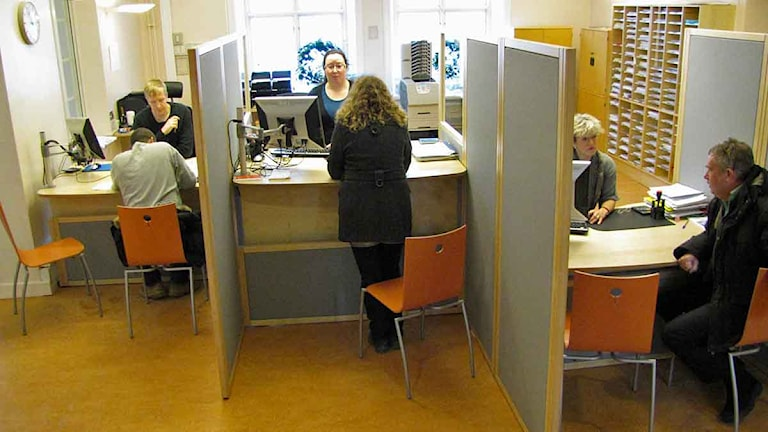 Försäkringskassans, Skatteverkets och pensionsmyndighetens servicekontor i Visby.