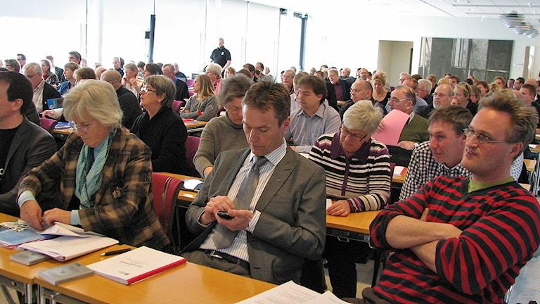 Gotlands regionfullmäktige. Foto: Katarina Hedström/SR Gotland
