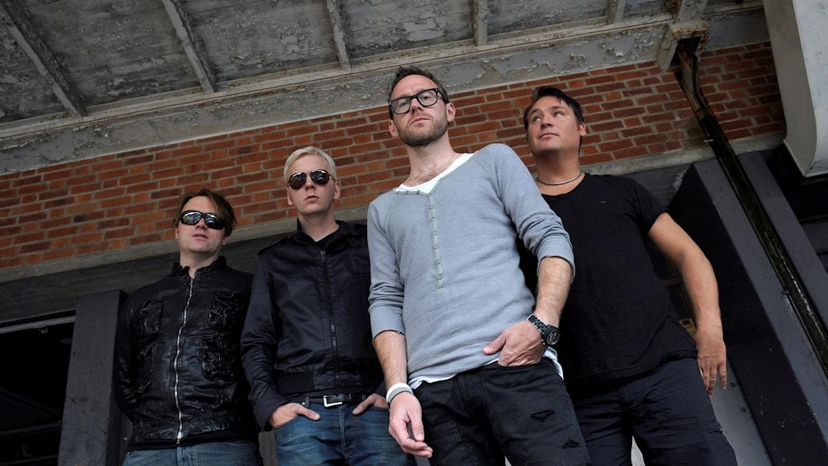 Kent. Från vänster: Martin Sköld, Sami Sirviö, Joakim Berg och Markus Mustonen. Arkivbild.