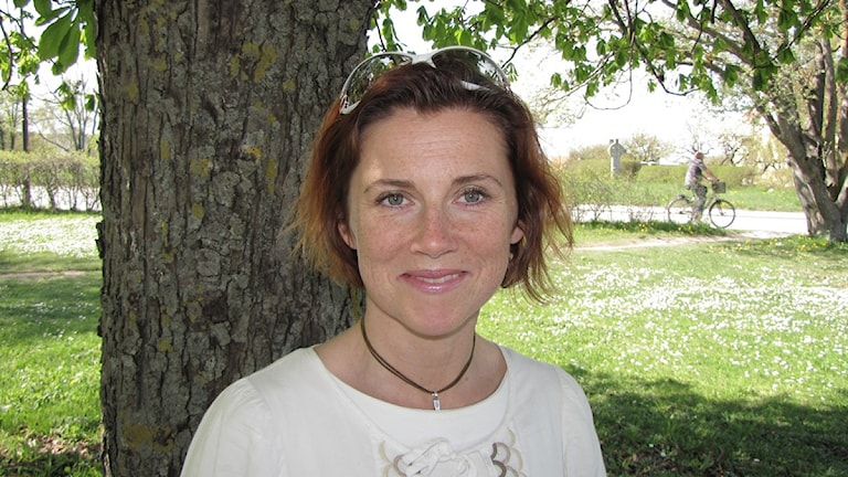 Maria Modig, Foto: Mika Koskelainen/SR Gotland