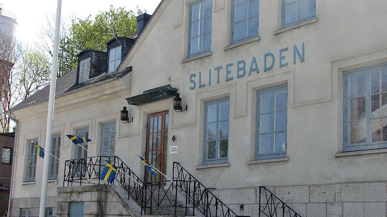 Slitebaden. Arkivfoto: SR Gotland