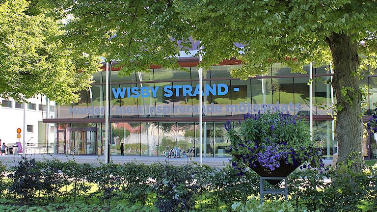 Kongresshallen Wisby Strand. Foto: Mika Koskelainen/SR Gotland