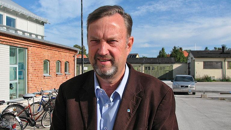 Hans Klintbom. Foto: Anna Jutehammar / SR Gotland
