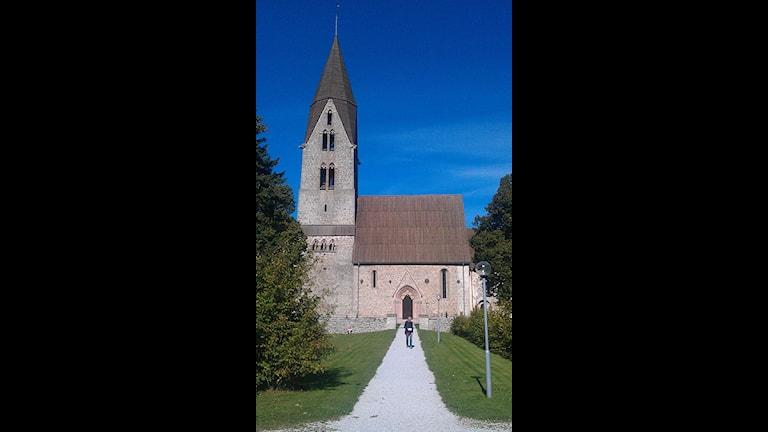 Öja kyrka. Foto: Karin Persson/SR Gotland