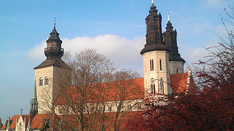 Visby domkyrka. Foto: Henrik Wallenius/SR Gotland