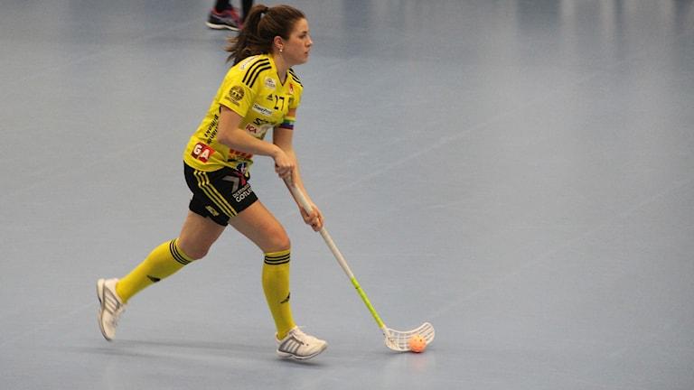 Endres Sara Steen, i match mot Warberg