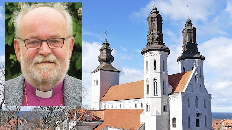 Sven Bernhard Fast och Visby domkyrka