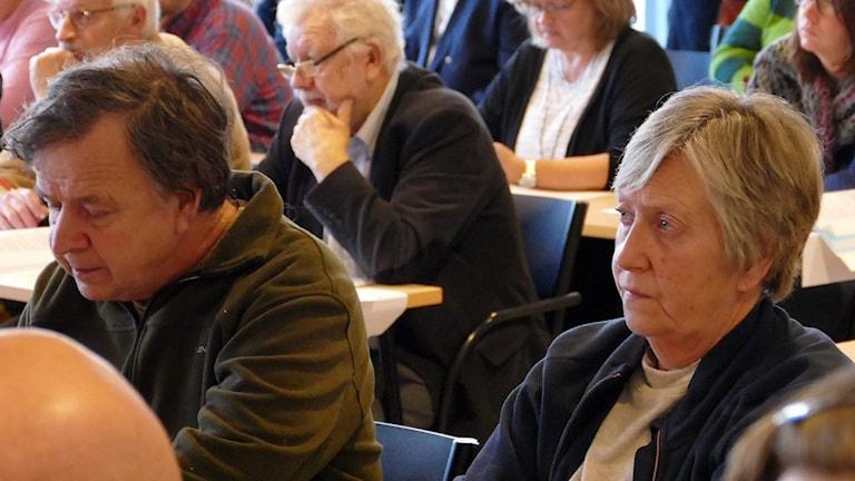 Hannes Müller och Eva Pettersson sitter på två av Sverigedemokraternas mandat i Regionfullmäktige