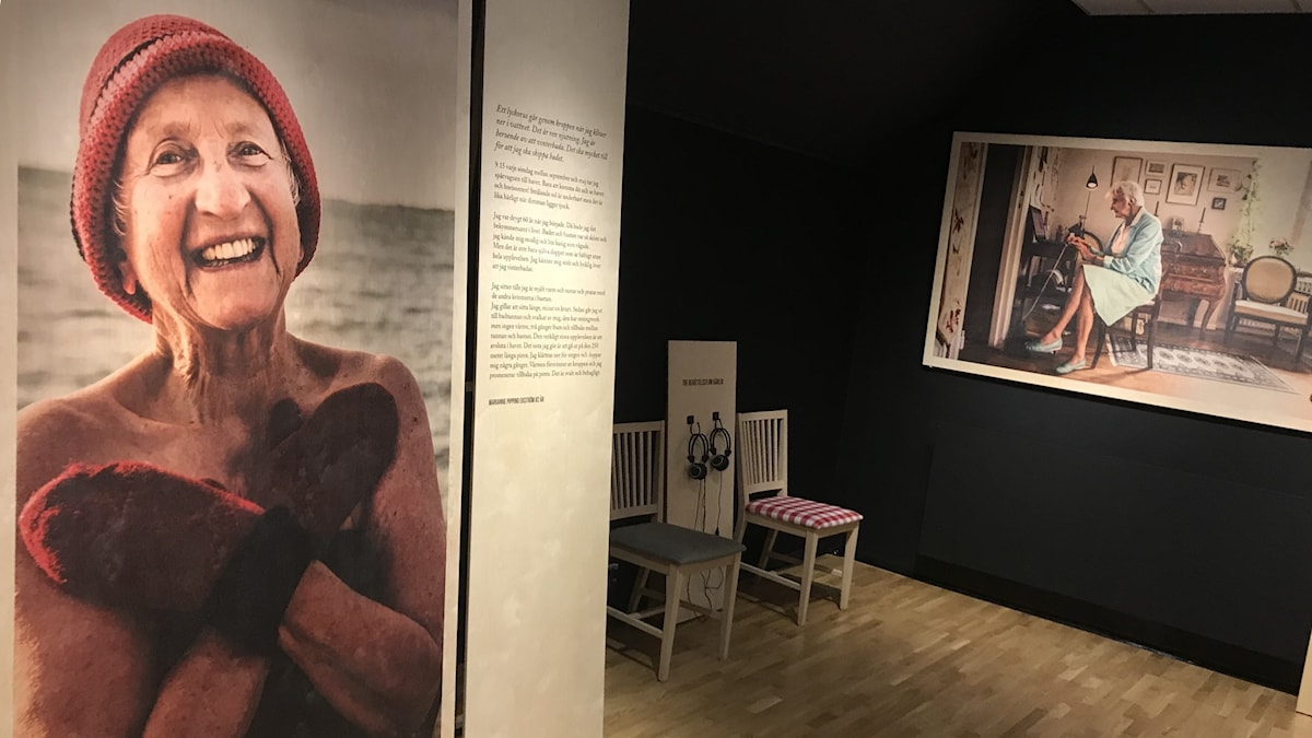 Elisabeth Ohlsson Wallin porträtterat äldre människor