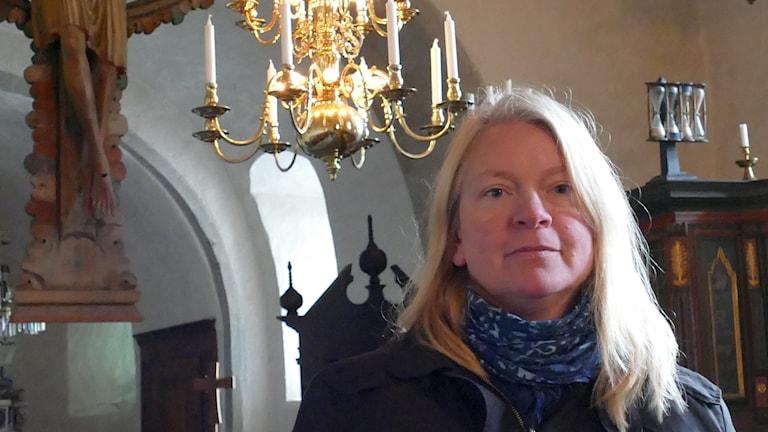 Rebecka Svensson, stiftsantikvarie Visby stift.