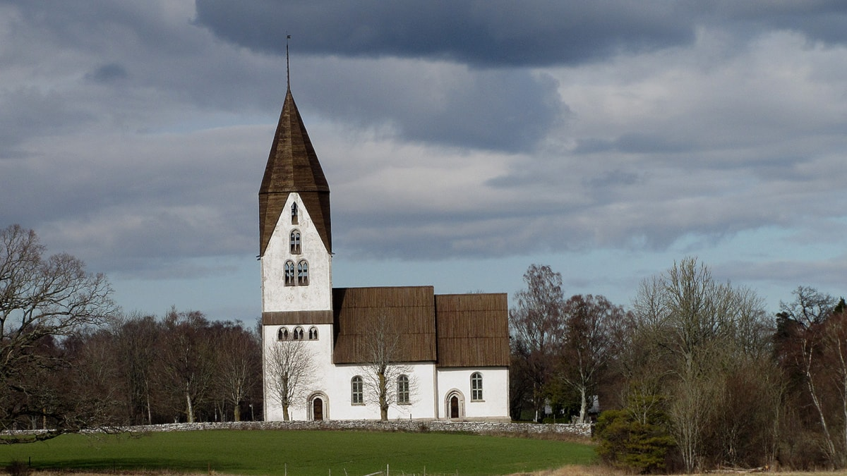 Linde kyrka. Foto: Karin Persson/SR Gotland