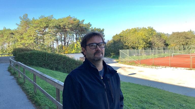 Henrik Johansson, ordf Visby tennisklubb