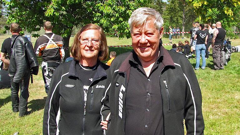 Anita  o Lelle Westin (Lelles mc) har varit med varje år sedan Pigge ville anordna Lelleveckan på Kneippbyn