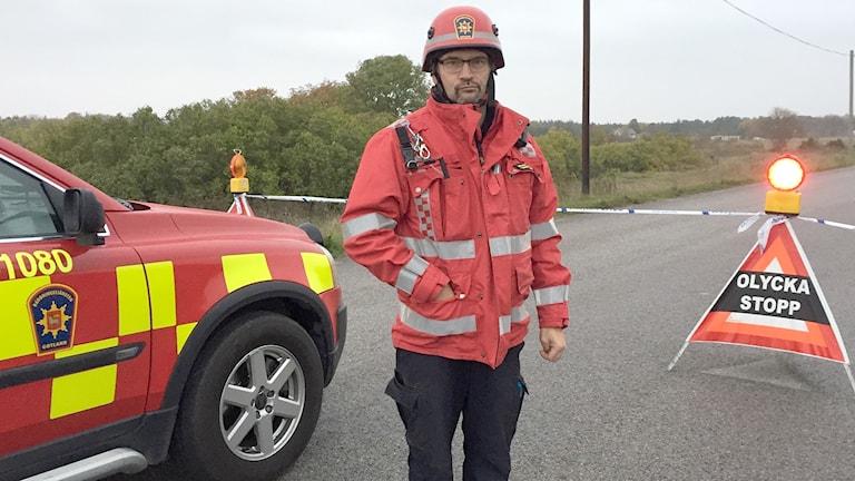 Henrik Johansson räddningsledare