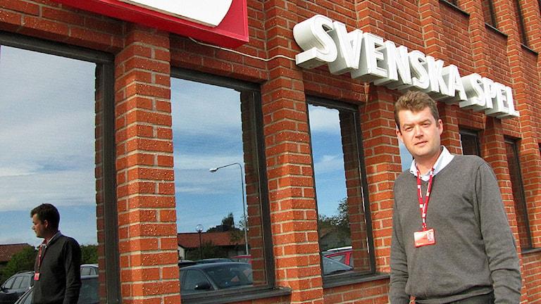 Magnus Staflin är regional ombudsman för Unionen o hjälper Svenska Spels klubb,