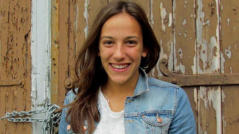 Anna Oscarsson. Foto: Cristina Jardim-Ribeiro/SR Gotland