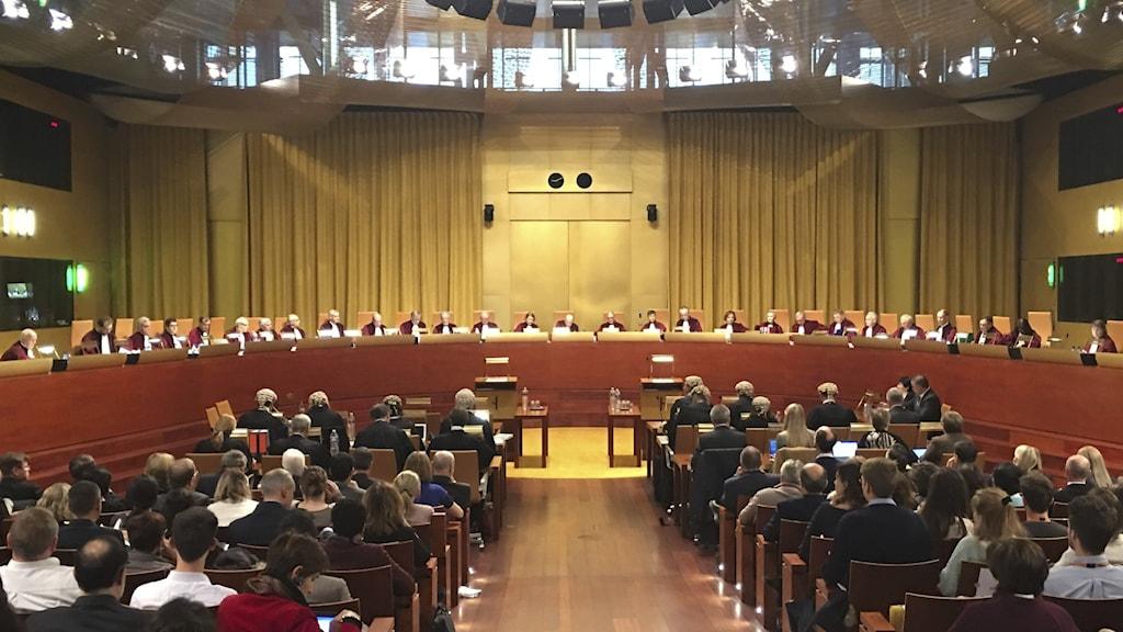 EU domstolen i Luxemburg