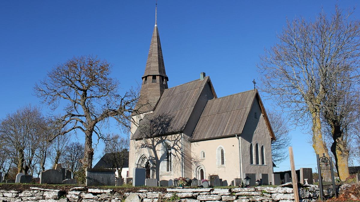 Ardre kyrka. Foto: Mika Koskelainen/SR Gotland