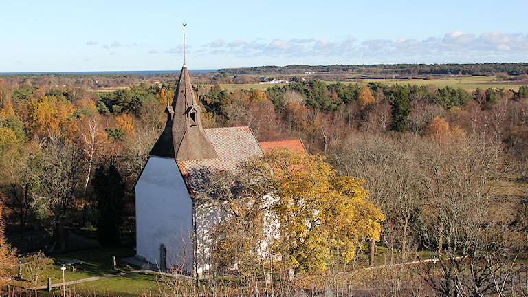 Östergarns kyrka. Foto: Mika Koskelainen/SR Gotland