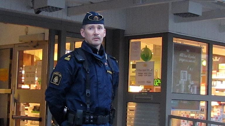 Conny Johansson. Foto: Håkan Erlandsson / SR Gotland