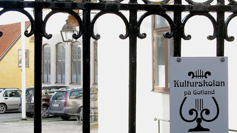 Kulturskolan i Visby. Foto:Henrik Wallenius/SR Gotland