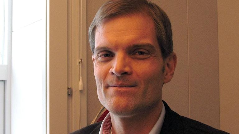 Anders Mattsson, vd Nordkalk. Foto:Henrik Wallenius/SR Gotland