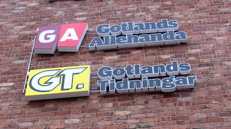 GA och GT på Visborgsområdet. Foto: Anna Jutehammar/SR Gotland