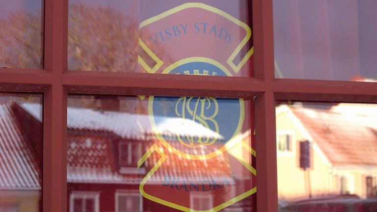 Visby stads brandkår. Foto: Henrik Wallenius/SR Gotland