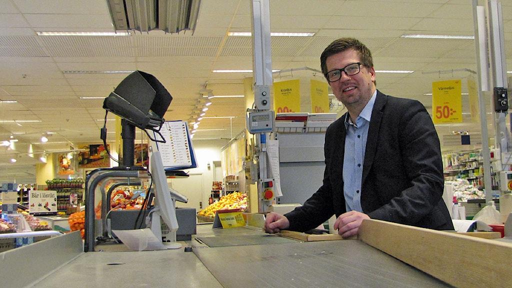 Richard Hedsand, vd konsum Gotland