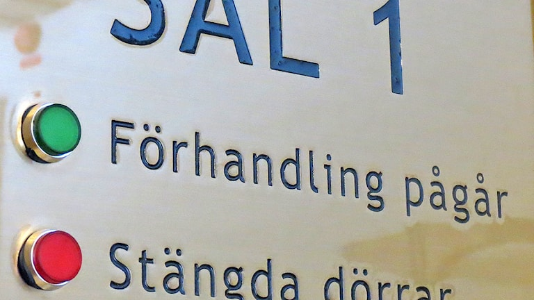 Gotlands tingsrätt. Foto: Gunnel Wallin / SR Gotland