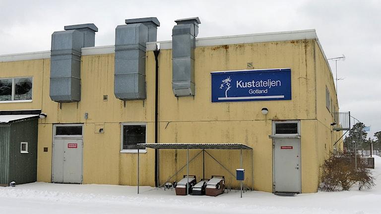 Kustateljén i Fårösund. Foto: Anna Jutehammar / SR Gotland