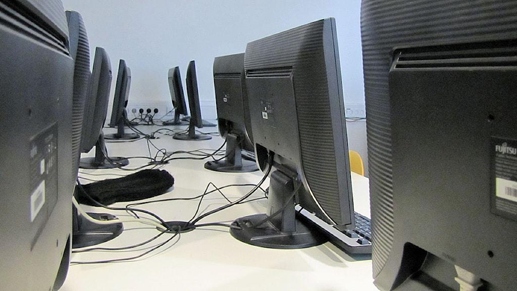 Datorer på Richard Steffengymnasiet