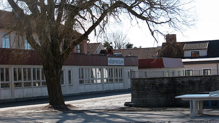 Högbyskolan i HemseArkivfoto: Eleonor Svensson/SR Gotland