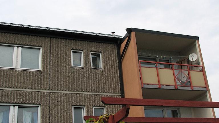 Gotlandshems lägenheter i Visby. Foto: Henrik Wallenius/SR Gotland