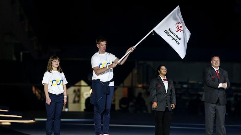 Special olympics avslutning Jimmy Andersson
